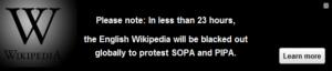 Википедия закроится 18го января