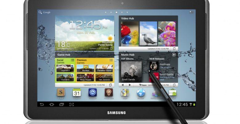 Samsung представил планшет Galaxy Note 10.1