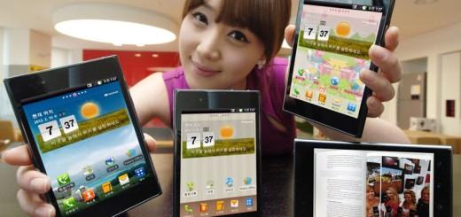 смартфон LG Optimus Vu