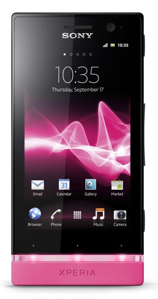 Sony представляет новые смартфоны собственного производства – Xperia P и Xperia U