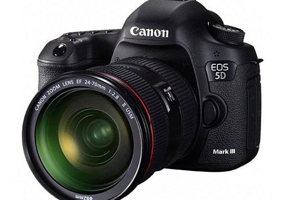 Canon представляет зеркальную фотокамеру EOS 5D Mark III