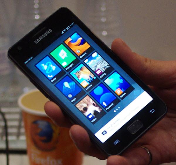 Mozilla смартфон выйдет в 2013 году
