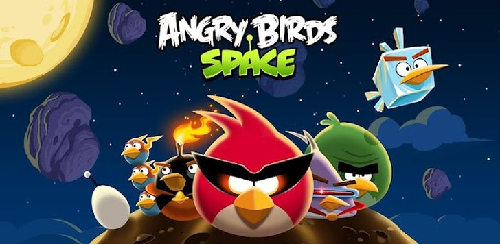 Angry Birds Space теперь и в BlackBerry PlayBook