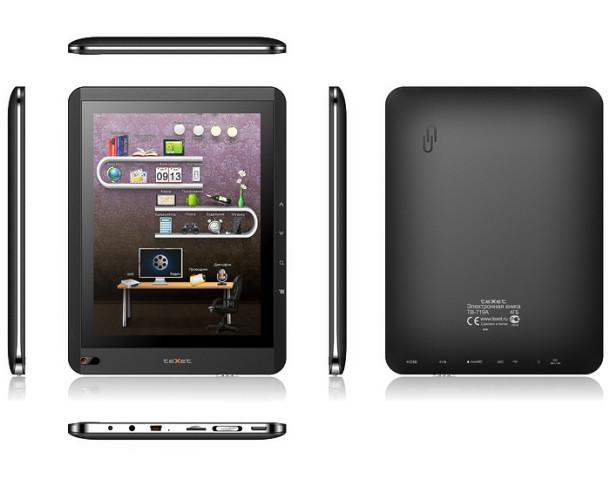 Новая книга teXet TB-719A на Android