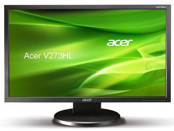 Широкоформатный ЖК-дисплей Acer V273HL