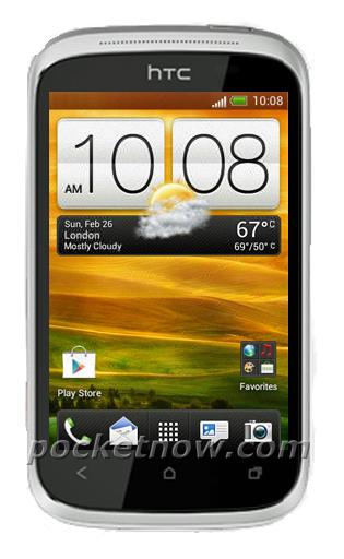 HTC Wildfire C на фото