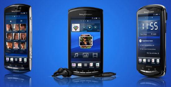 Смартфоны Xperia 2011 пока не будут обновлены до Android 4.0 ICS
