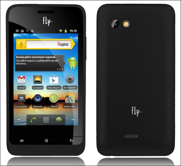 Бюджетный смартфон Fly IQ240 Whizz