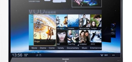 Lenovo представляет Smart TV с Android 4.0