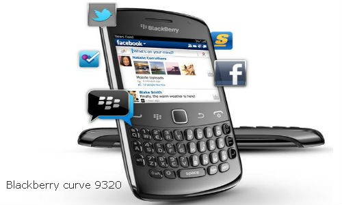 Релиз BlackBerry Curve 9320