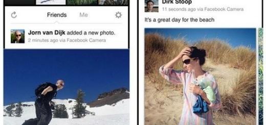 Facebook запустил приложение для iOS