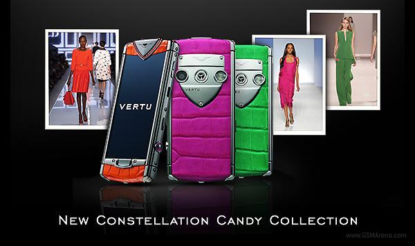 Не бюджетный Vertu Constellation Candy