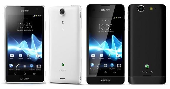 Анонсированы смартфоны Xperia GX и Xperia SX
