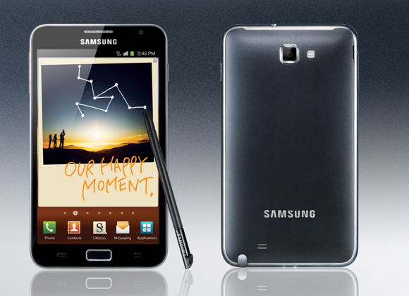 Samsung Galaxy Note обновлен до Android 4.0