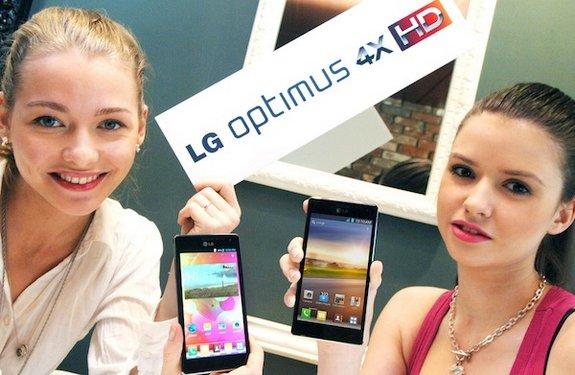 В Европе уже можно купить LG Optimus 4X HD P880
