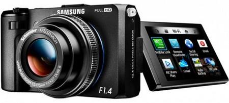 Новая камера Samsung EX2F с поддержкой Wi-Fi