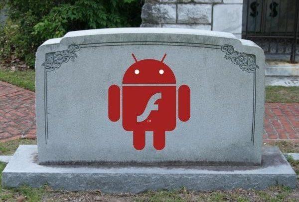Флеш уходит от андроида