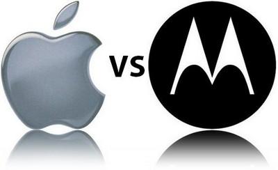 Apple и Motorola улаживают патентные разногласия