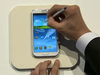 Sumsung Galaxy Note 2 представлен в Берлине