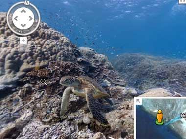 Google Maps предоставит возможность посмотреть панорамы Большого Барьерного рифа