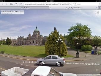 Google Street View теперь в мобильном