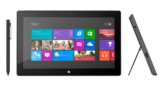Продажи Microsoft Surface Pro стартуют в январе