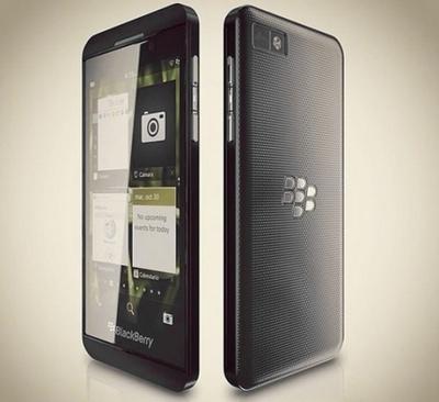BlackBerry Z10: стали известны спецификации