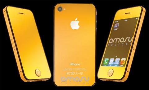 В Британии сделали золотой iPhone