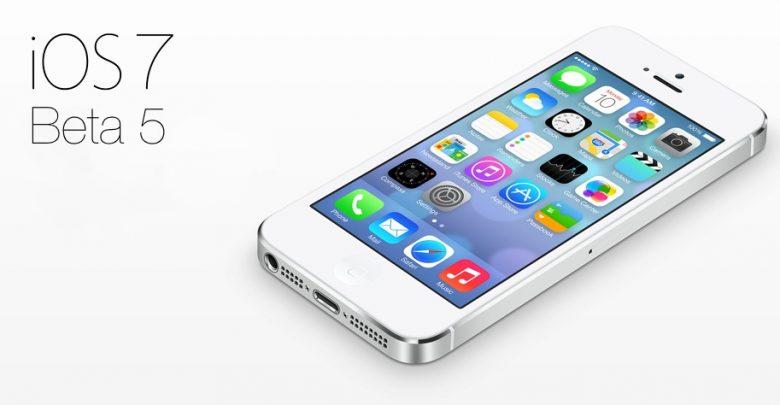 Apple неожиданно презентовала 5-ое бета-поколение iOS 7