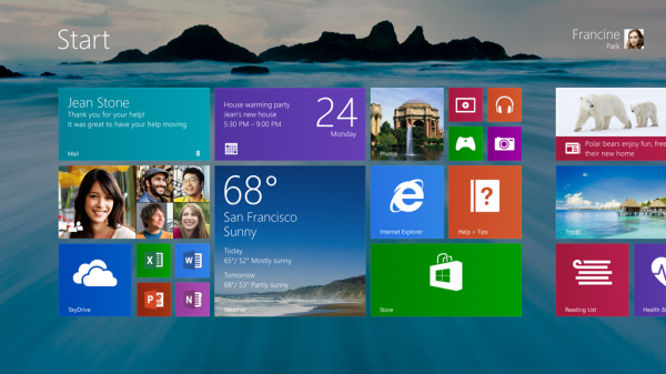 Windows 8.1: выход назначен на 18 октября