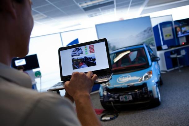Intel внедряет новые технологии в автомобильную промышленность