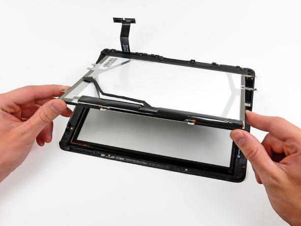 Замена битого стекла в Apple iPad