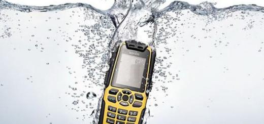 телефон попал в воду