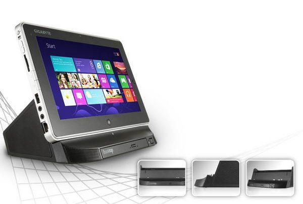GIGABYTE Technology представила свой планшетный компьютер S1082