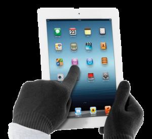 Перчатки для сенсорных экранов Cellular Line
