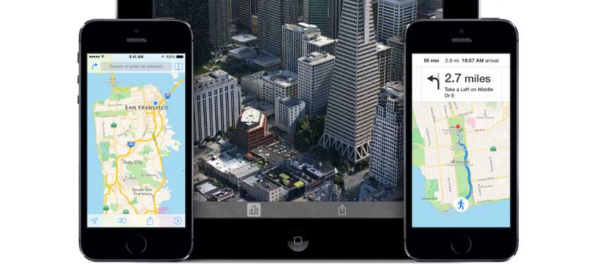 Apple готовит значительный апгрейд карт для iOS 8