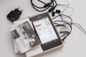 Комплектация Sony Xperia Z1