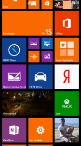 Операционная система Nokia Lumia 1320