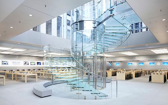 Магазин Apple на 5 Авеню, Нему Йорк