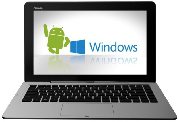 ASUS Transformer Book Duet TD300. Windows и Android