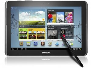 Второе место занимает Samsung Galaxy Note N8000 16GB