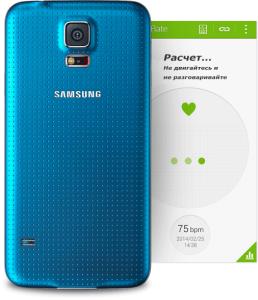 Samsung Galaxy S5 чувствует Ваше сердце