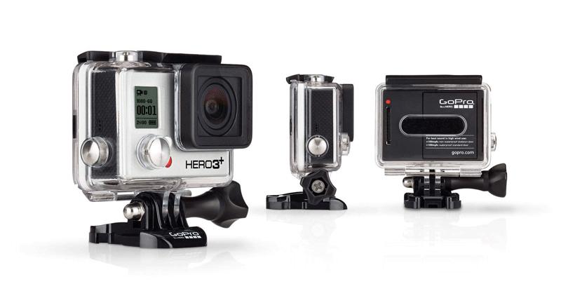 Экшн камеры GoPro HERO 3 для экстремального спорта