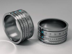 Электронное кольцо Ring Clock