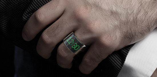 Электронные кольца, как альтернатива смарт - браслету