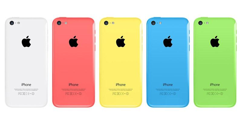 Iphone 5c - первая линия компании, выполненная в цвете