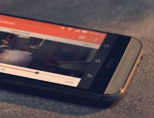 Мощность двойного динамика в HTC One M8
