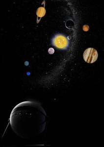 Некоторые модели из домашних планетариев