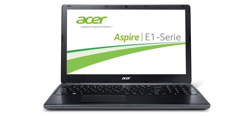 Ноутбуки серии Acer E1-510 на базе 4 -ядерного процессора