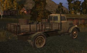 поведение грузовиков